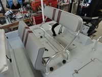 Custom Aluminum Bench Seat.